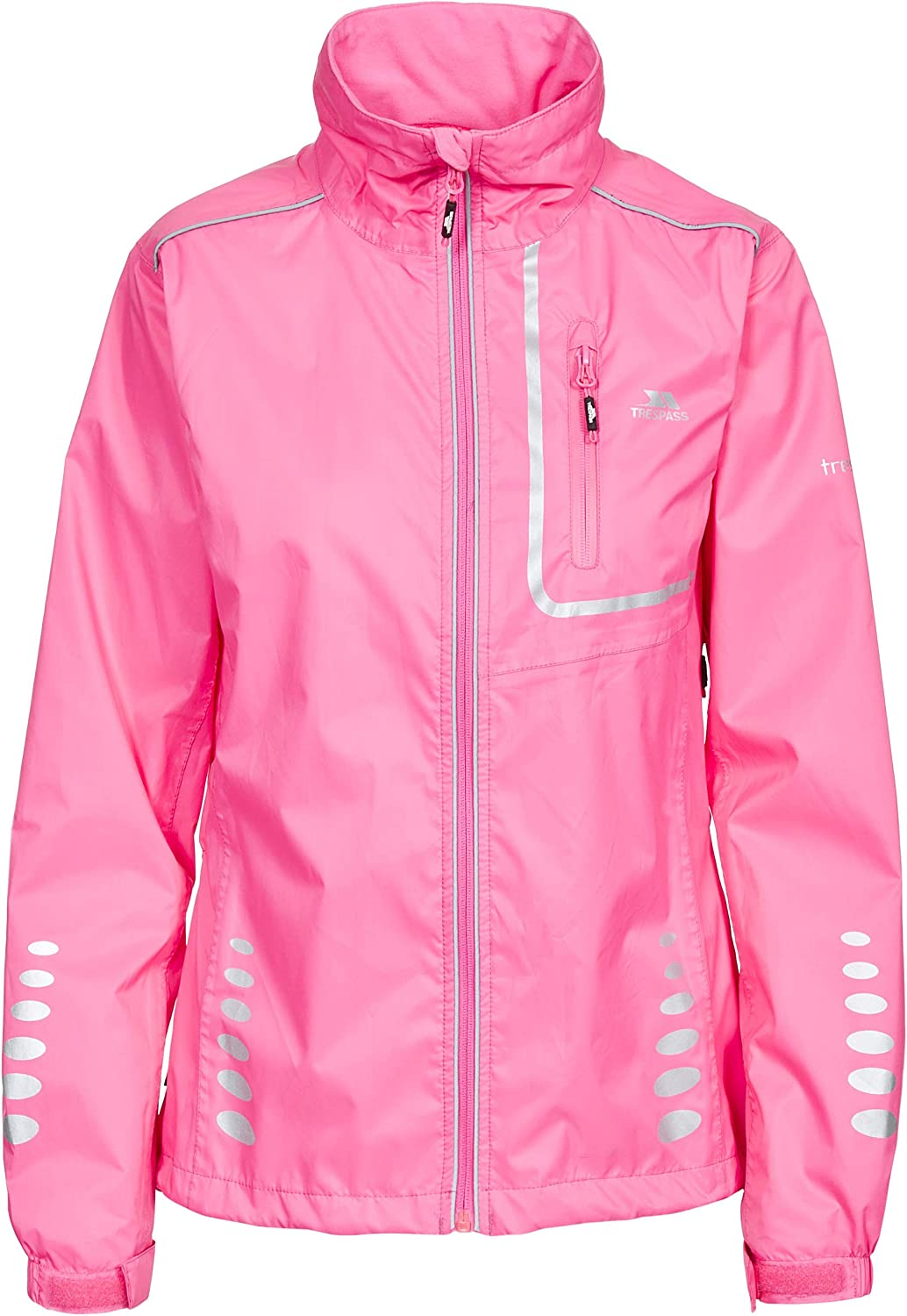 Trespass Fairing Womens Waterproof Cycling Jacket Lightweight Running Coat