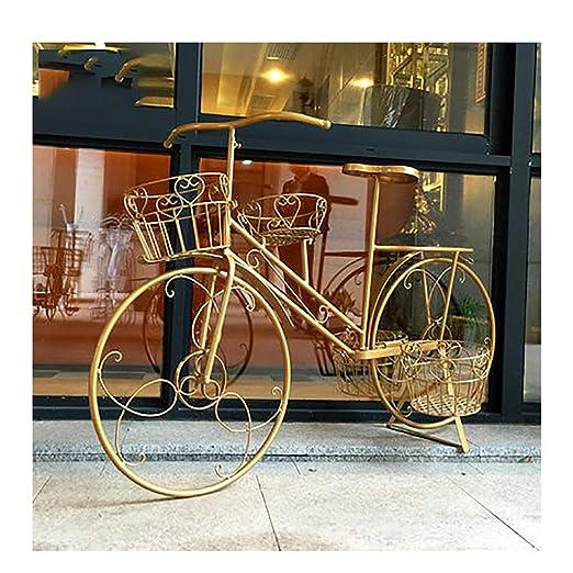 Soporte para plantas de bicicleta Soporte para macetas Bastidor de ...