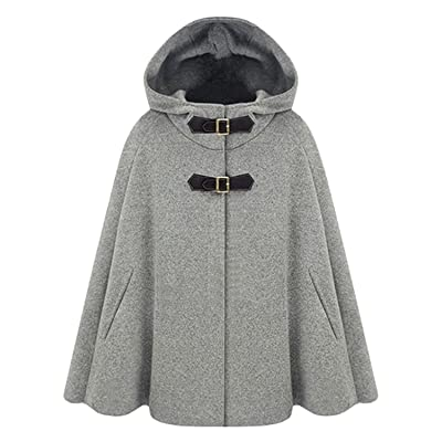 avenues Jumpsuits-apparel Poetry Cents Warmer Women's Winter Fashion Woolen Loose Button Warm Trench Coat Maternity Coat