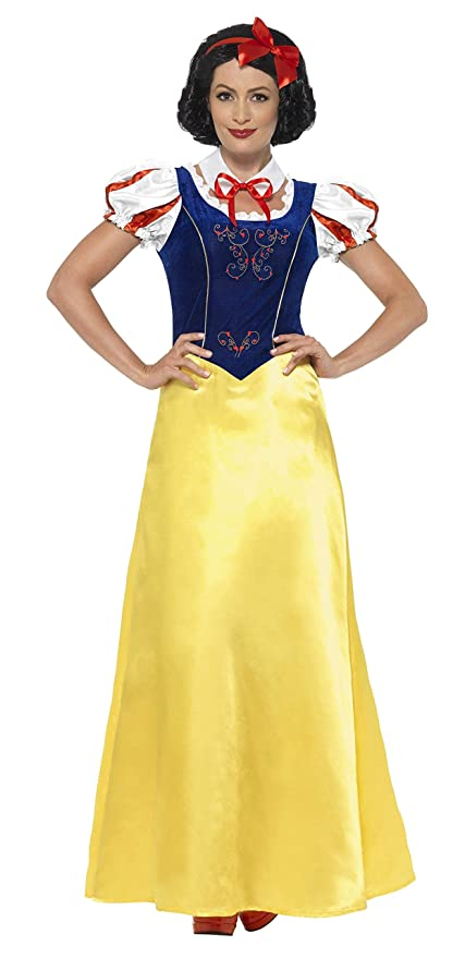 cd8a33749b2c Smiffy's-Costume da donna per travestimento da Biancaneve, XL (X1 ...