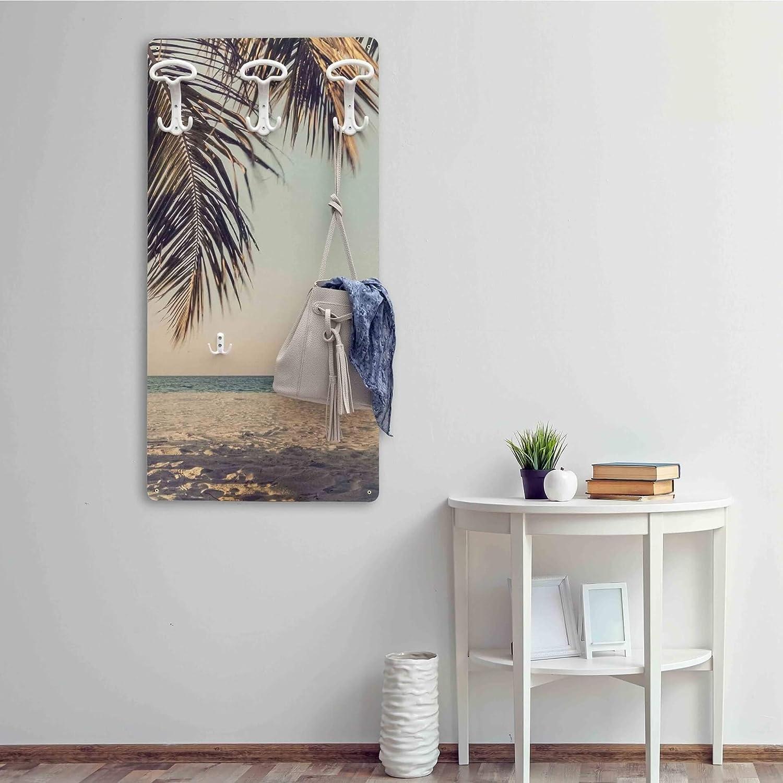 Completamente Made in Italy Palm Dekoidea by Crearreda Attaccapanni Stampato 45 x 90 x 1 cm in Legno