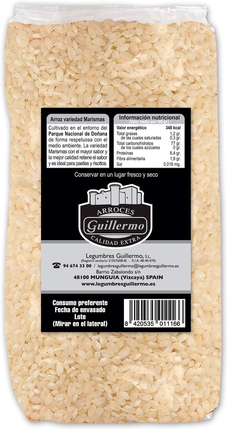 Guillermo Arroz Blanco Redondo Marisma de Doñana para paellas ...