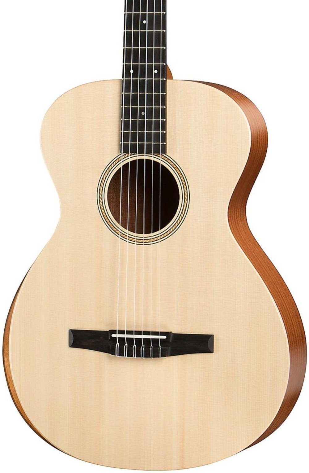 Taylor Academy Series Academy 12e-N Grand Concert Nylon Acoustic Guitar Natural by Taylor