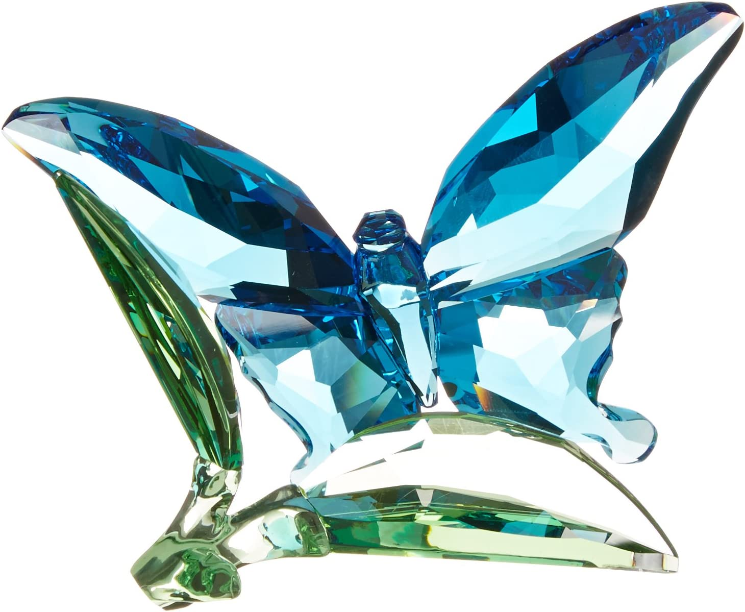 SWAROVSKI Butterfly on Leaves Figurine