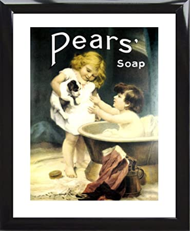 Pears Soap Print Framed And Memo Board Available