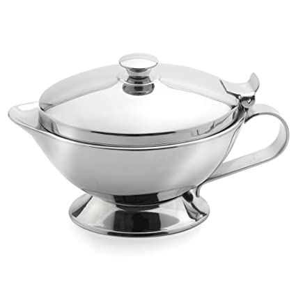 Amazon.com: Weis Thermo Gravy Boat 400 ml, Stainless Steel ...