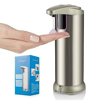 Automatic Touchless Soap Dispenser, Opaceluuk Fingerprint Resistant  Stainless Steel Hand Soap Dispenser