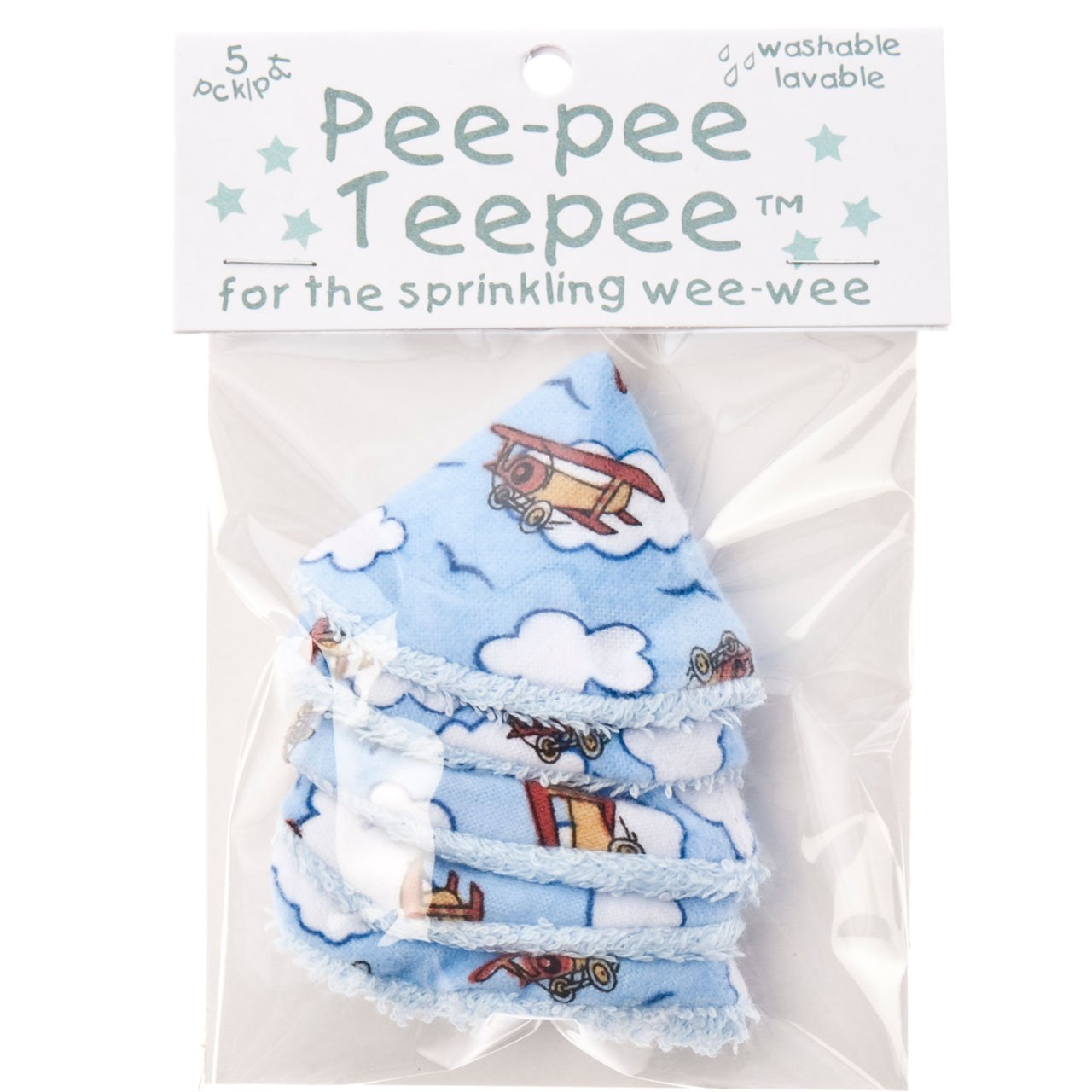 Amazon.com  The Peepee Teepee for the Sprinkling WeeWee 5 Airplanes in Cellophane Bag  Cloth Baby Diapers  Baby  sc 1 st  Amazon.com & Amazon.com : The Peepee Teepee for the Sprinkling WeeWee: 5 ...