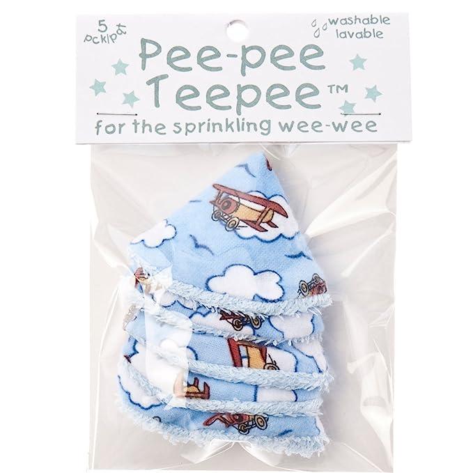 The Peepee Teepee - Teepee para aspersor de la semana, aviones en bolsa de celofán: Amazon.es: Bebé