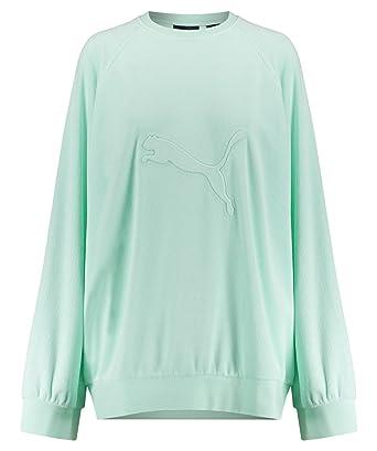 Puma Damen Sweatshirt Fenty Pistazie (41) M  Amazon.de  Bekleidung fad6149eec