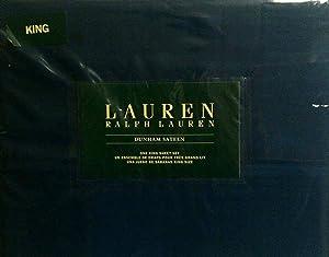 Lauren King Cadet Blue Dunham Sateen Sheet Set