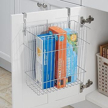 mDesign - Bote para residuos/papelero o Canasto para almacenamiento ...