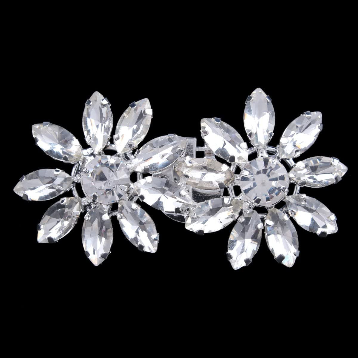 Clips Santfe con coloridos diamantes de imitaci/ón para decoraci/ón de zapatos de fiesta o boda