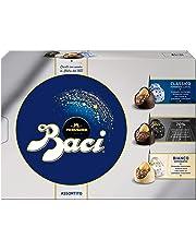 Baci Perugina Cioccolatini Assortiti Ripieni al Gianduia e Nocciola Intera Scatola - 225 g