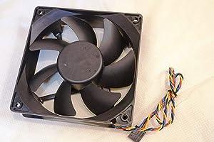 CAQL Case DC Fan for Dell Optiplex Mini Tower 210L 330 360 740 745 745c 755 760 780 GX520 GX620, Dimension E510 E520 E521 5100 5150 3100, P/N: 4715KL-04W-B56 TA450DC/B35502-35 DD12038B12HP