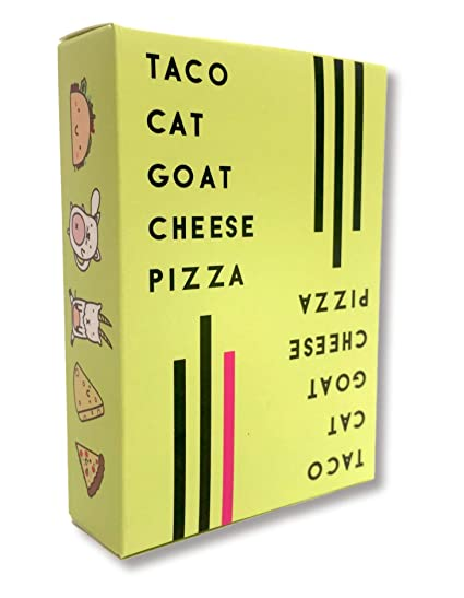 Taco Cat Goat Cheese Pizza best stocking stuffers for men