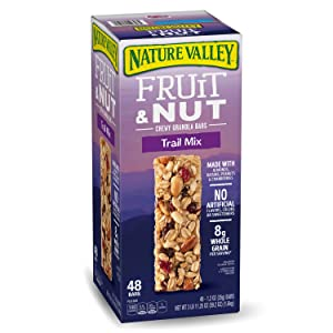 Nature Valley Fruit & Nut Chewy Trail Mix Granola Bars (48 ct.) (pack of 2)