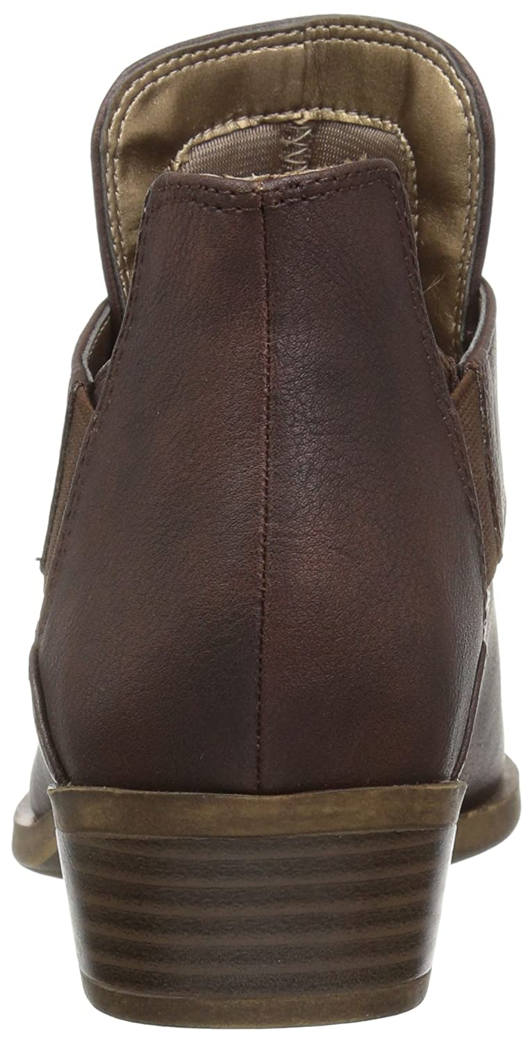 LifeStride Women's Able Ankle Bootie B06Y2G8KBD 7.5 W US|Brown