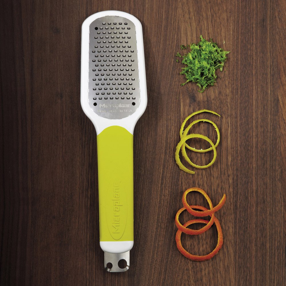 Microplane Green Ultimate Citrus Tool 2.0 Zester 0934720