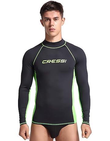 33b9d8028e Cressi Men's Rash Guard Long Sleeve UV Sun Protection (UPF) ...