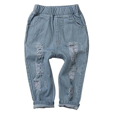 Fulltime(TM-Otoño Invierno Pantalones Vaqueros para Bebe ...
