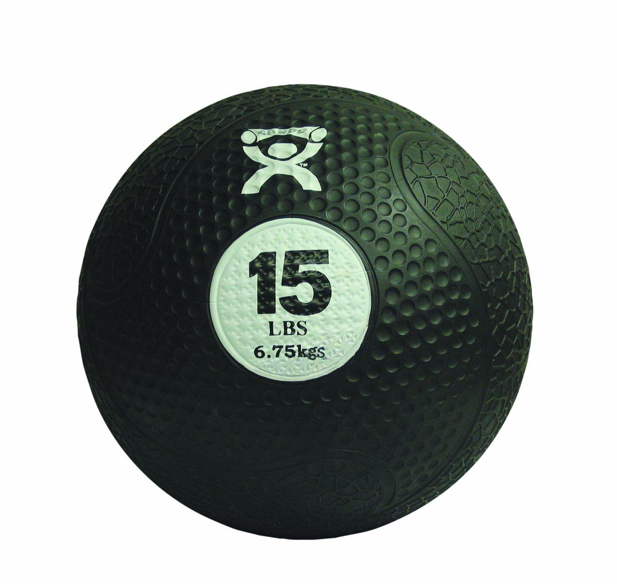 CanDo Rubber Medicine Balls, Black