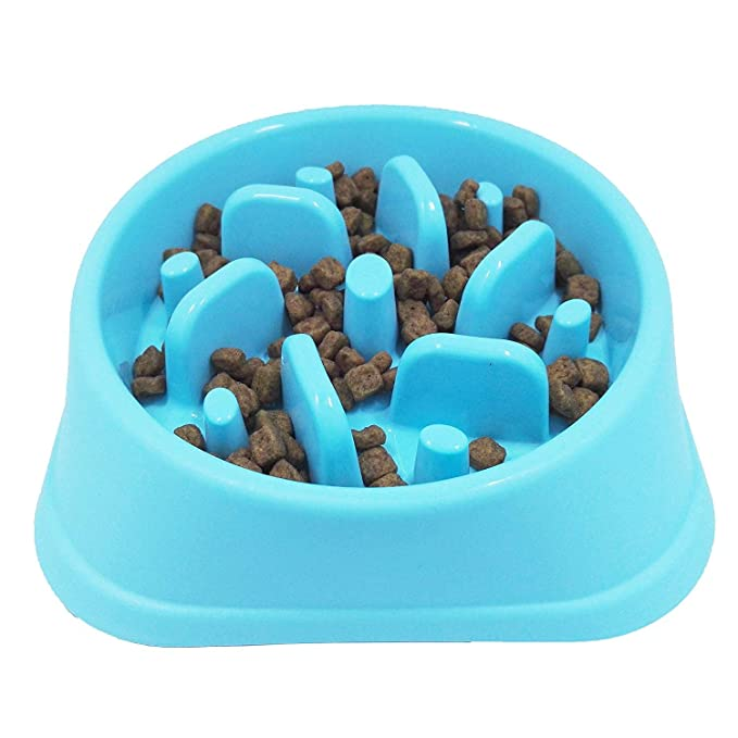 Txyk Reisenäpfe Hundenapf Katzennapf, Anti Schling für die langsame Fütterung
