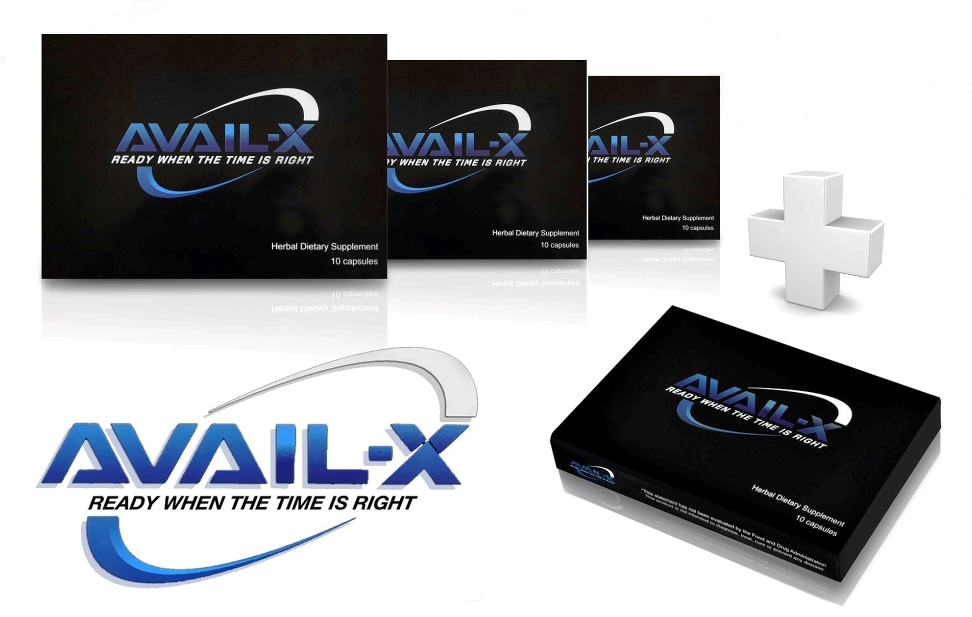 Avail-X Natural Male Enhancement & Testosterone Booster (40 Caps) by Avail-X (Image #1)