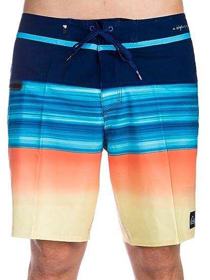 de887ec8c0 Amazon.com: Quiksilver Highline Hold Down Vee 18 Boardshorts 32 inch Estate  Blue: Clothing
