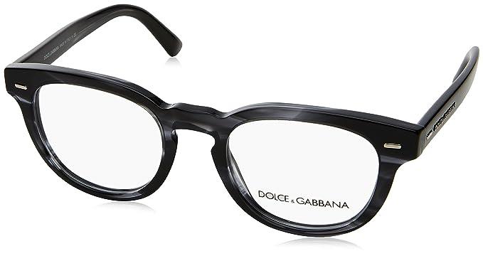 Dolce   Gabbana Montures de lunettes Pour Homme 3225 - 2924  Striped  Anthracite  Amazon.fr  Vêtements et accessoires d7fd228f51a3