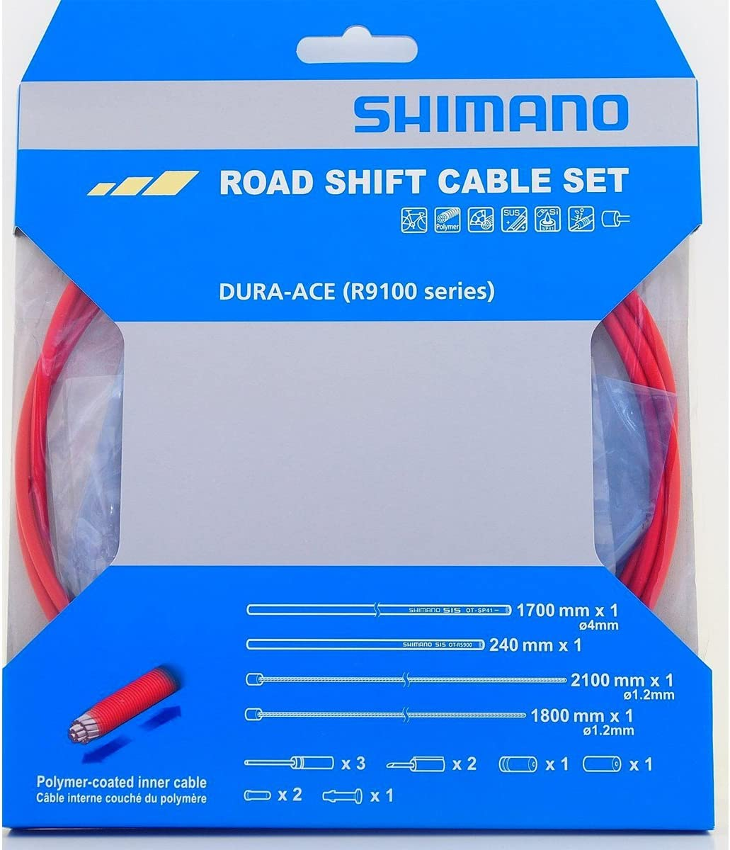 Shimano Ultegra SP41 Polymer-Coated Derailleur Shift Cable and Housing Kit