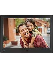 NIX Advance Marco Digital de Fotos y Videos 10 Pulgadas Widescreen X10H. Pantalla IPS. Portafotos Electrónico USB, SD/SDHC. Portarretratos con Sensor de Movimiento. 8GB USB Incluido