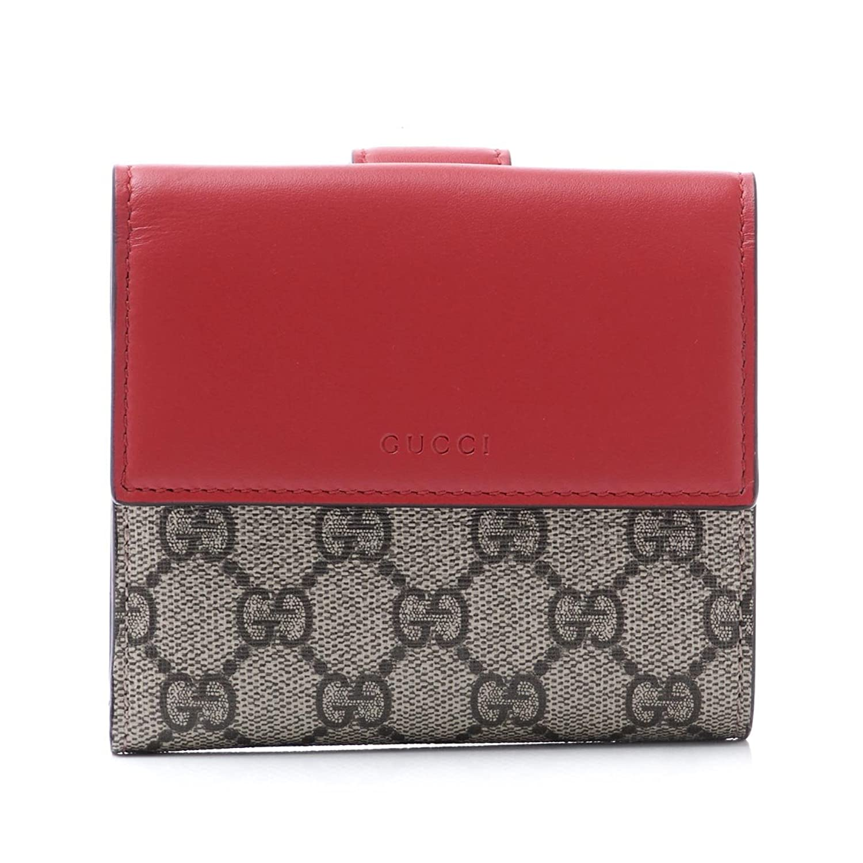 (グッチ) GUCCI 二つ折り財布 小銭入れ付き GGスプリーム [並行輸入品] B07578Z4K4