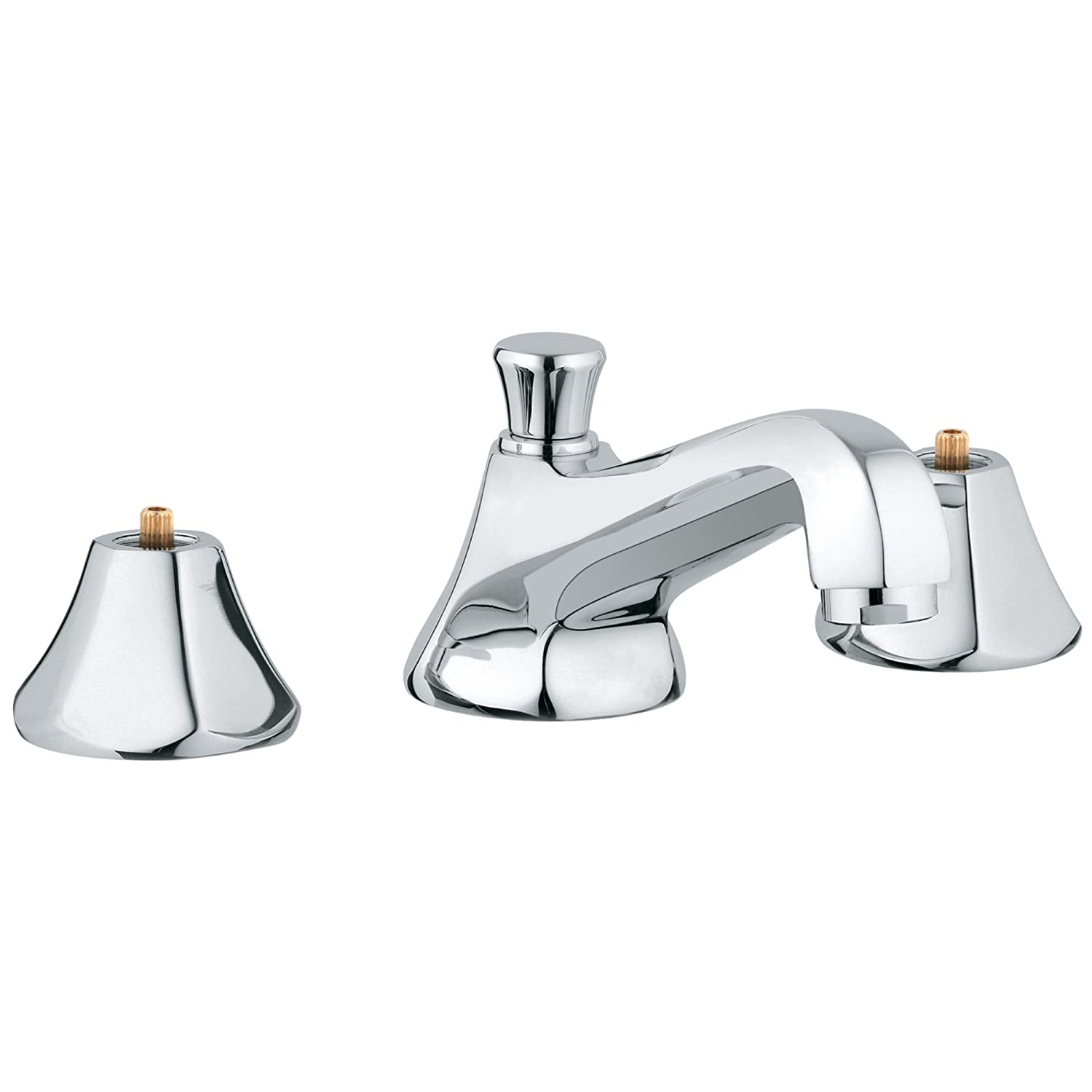 Somerset 8 in. Widespread 2-Handle Low Arc Bathroom Faucet - 1.5 GPM ...