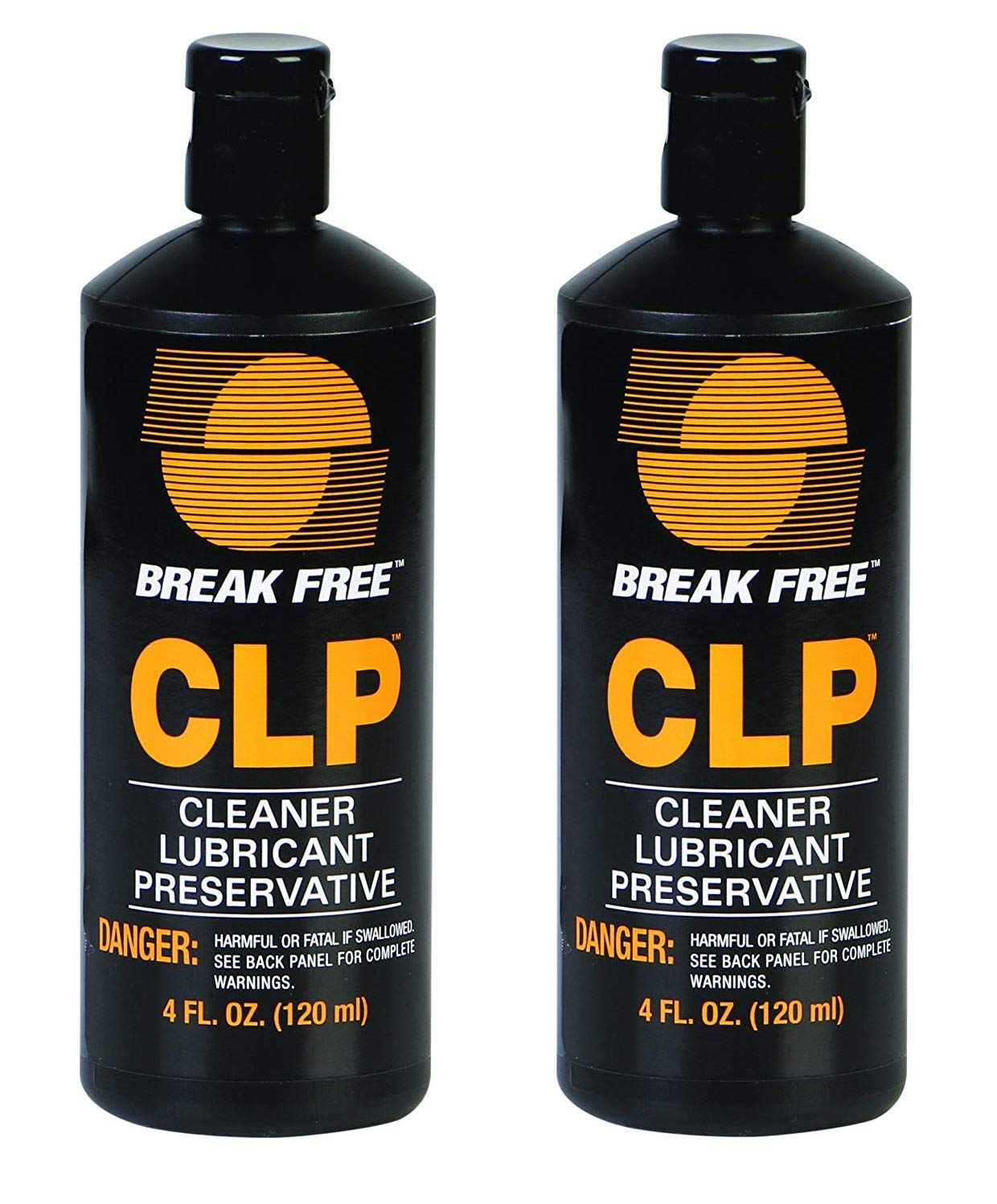 BreakFree CLP-4 Cleaner Lubricant Preservative Squeeze Bottle (4 -Fluid Ounce) (Тwo Рack)