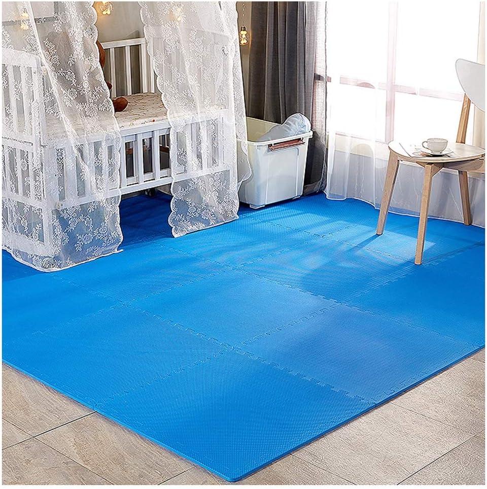 B 60X60X2.0CM-6PCS RUIRUIY Puzzlematte Interlocking Wildleder Bodenschutzmatte Trainingsmatte Yoga Spielzimmer, 6 Farben, 3 Größen (Farbe   C, Größe   60X60X2.5CM-6PCS)
