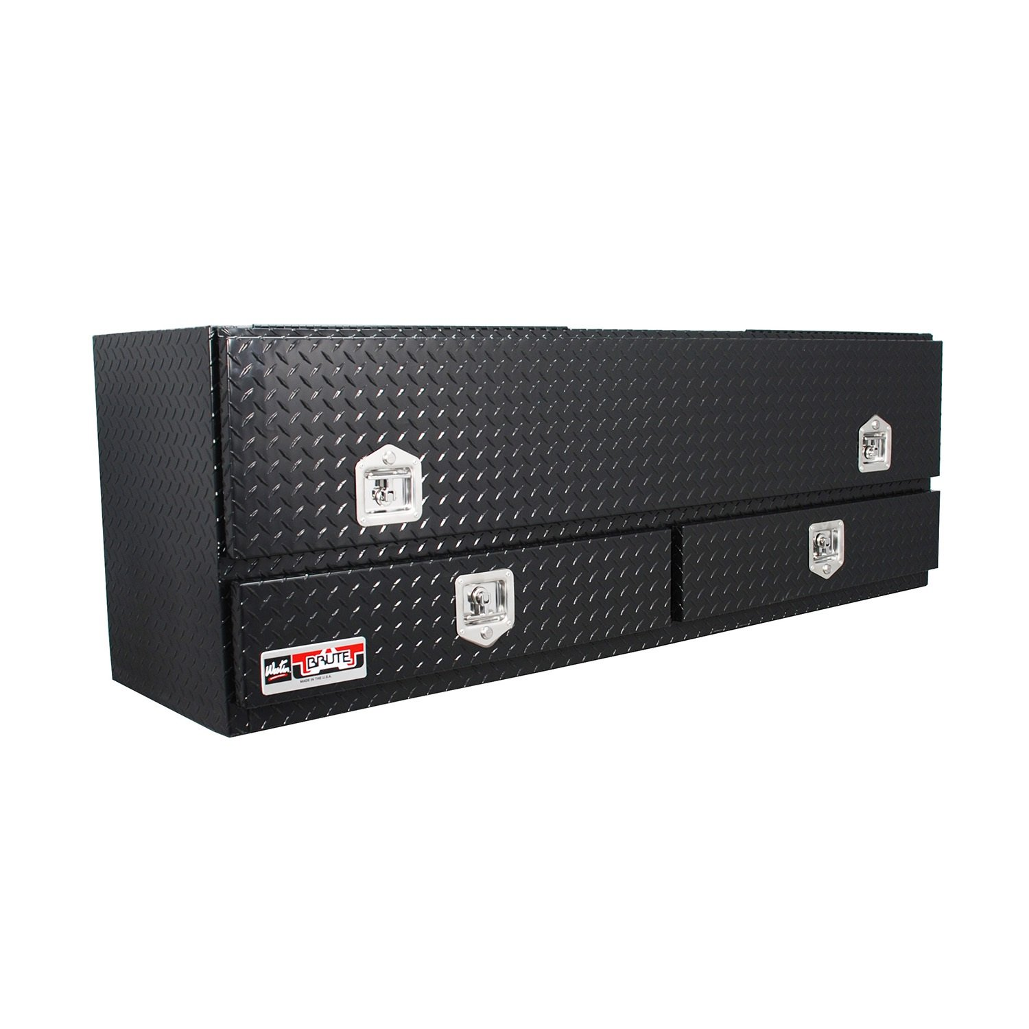 Westin 80-TB400-72-BD-B Brute Pro Series High Capacity Stake Bed Contractor Top Sider Tool Box Westin Automotive Products Inc.