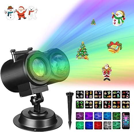 Amazon.com: Luces de proyector de Navidad, Gemwon luces ...