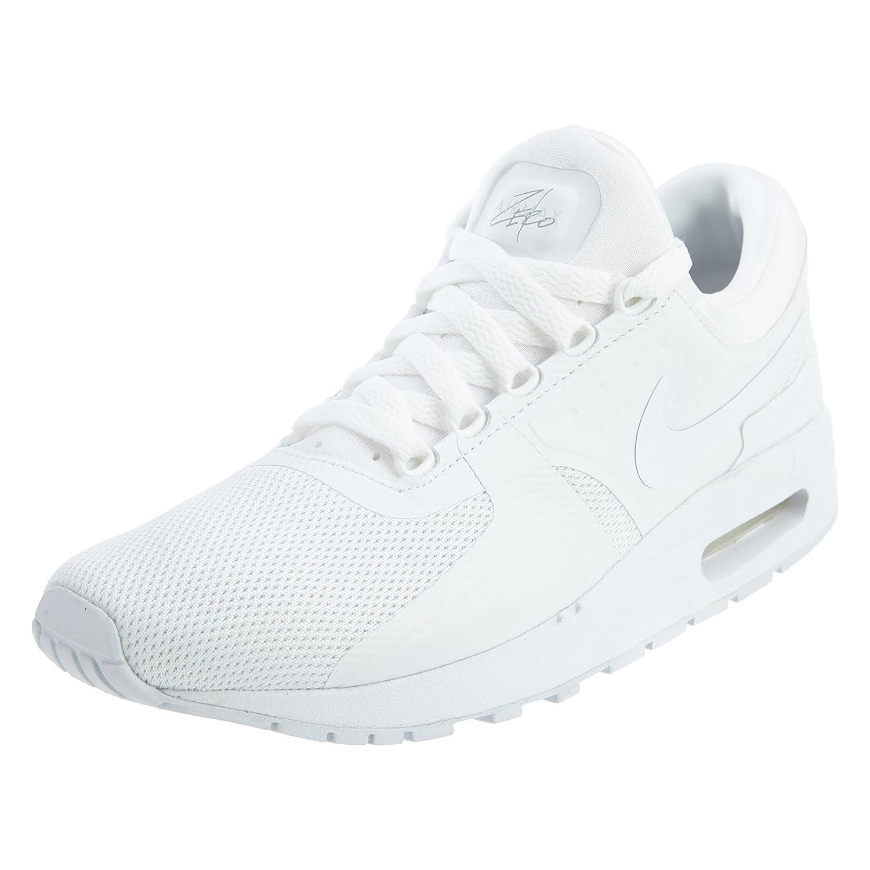 Nike  Air Max Zero Essential GS Running Shoe B072B9S3S1 6 M US Big Kid|White Wolf Grey 100