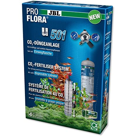 JBL ProFlora u501 Sistema de fertilisation AU Co ₂ para acuariofilia