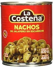 La Costeña Nachos de jalapeno en escabeche, 820 gramos