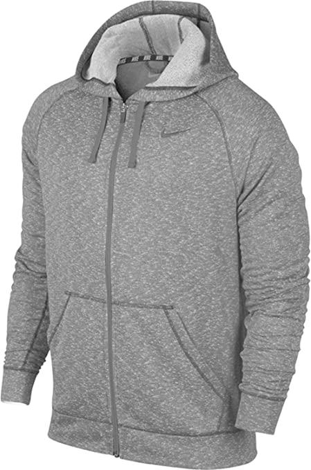 Amazon.com  Nike Mens Dri Fit Knit Full Zip Hoodie Sweatshirt ... 89f83427d