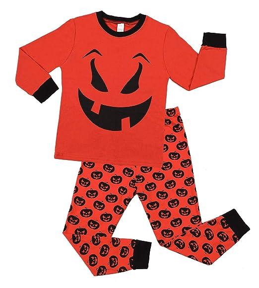 463dc9996141 Amazon.com  ATTRACO Kids Christmas Pajamas Set Long Sleeve Sleepwear ...