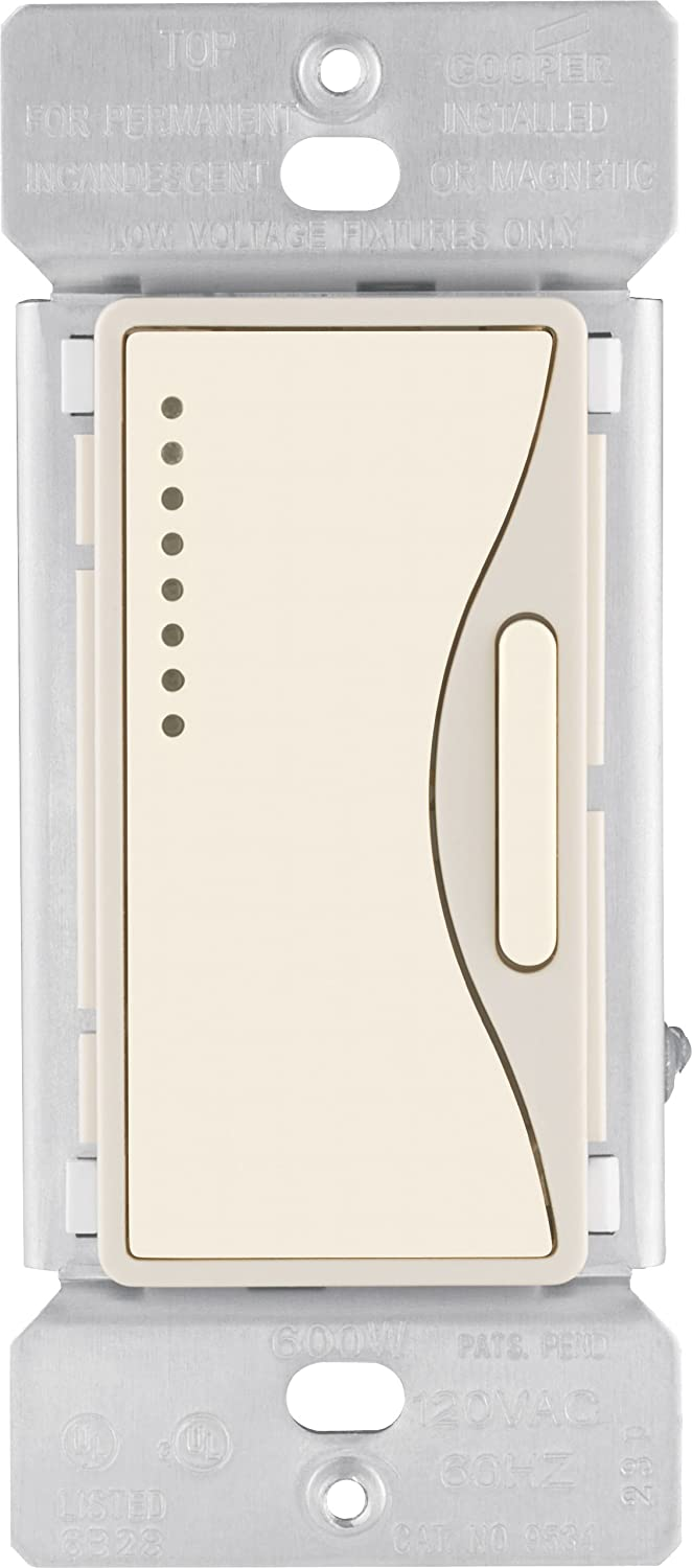 Eaton 9542DS ASPIRE Smart Accessory Dimmer with Preset, Desert Sand - Wall  Dimmer Switches - Amazon.com