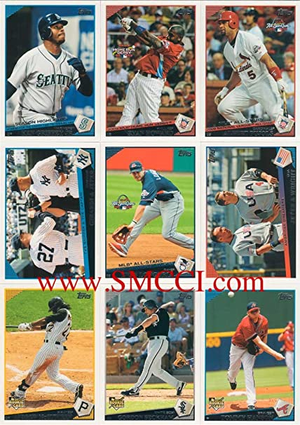 2009 Topps Traded Baseball Updates And Highlights Series Complete Mint Hand Collated 330 Card Set