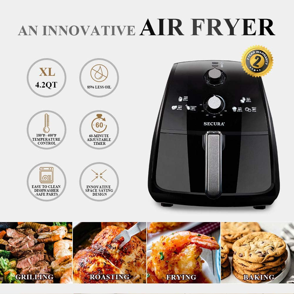 Best Large-Capacity Air Fryers in 2020: Reviews & Buying Guide 6
