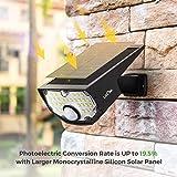 LITOM Solar Lights Outdoor IP67 Waterproof 3