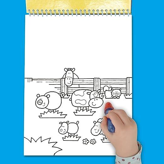 Magisches Wassermalbuch - Bauernhof: Amazon.de: Spielzeug