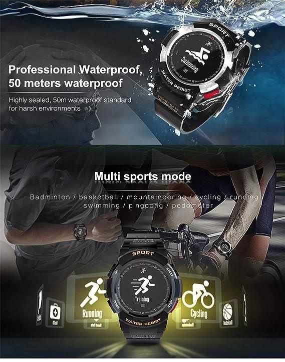 Amazon.com: Comecall F6 Smartwatch IP68 Waterproof Bluetooth ...