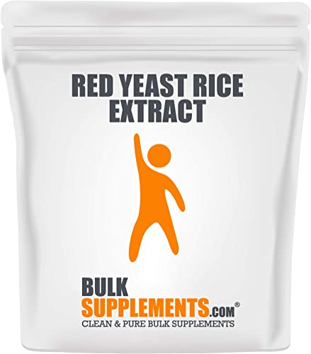 BulkSupplements Red Yeast Rice Extract Powder 500 Grams